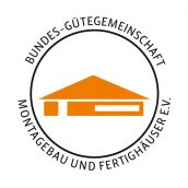 Logo Bundes-Gütegemeinschaft Montagebau und Fertighäuser